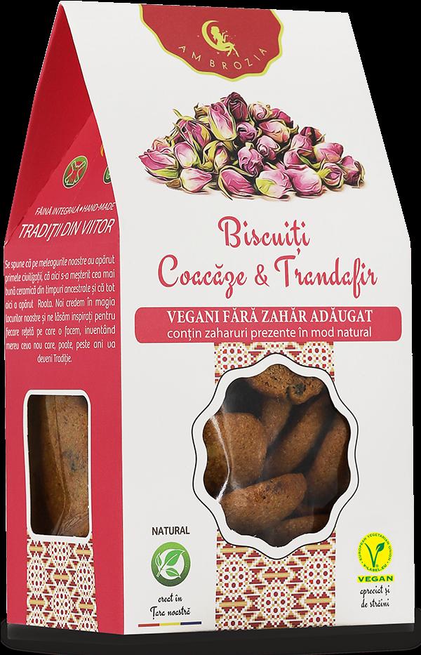 Biscuiti-Coacaze-Trandafir